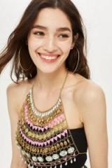Topshop Festival Chain Halter Neck | boho jewellery