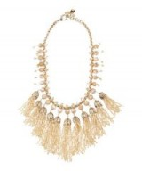 ROSANTICA Grillo Mop Beads Necklace – beaded statement jewellery