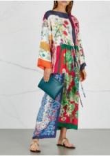 GUCCI Printed silk kimono dress ~ beautiful oriental style clothing