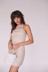 Cooper Street Karlie Mini Dress in ivory | party wear | open back design