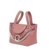 meli melo Linked Thela Mini Daphne – small pink top handle bags