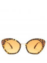 KALEOS Lord tonal-brown tortoiseshell acetate sunglasses ~ large cateye sunnies