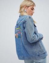 Oasis Havana Denim Jacket | back embroidered jackets