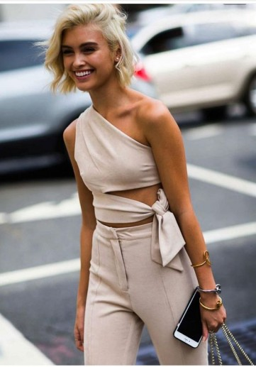 Effortlessly chic outfits ~ summer street style
