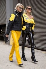 Yellow and Black x 2