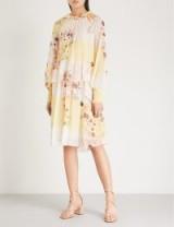 SEE BY CHLOE Waterflowers chiffon dress ~ feminine event style