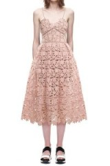 Self Portrait Azaelea Dress Blush Pink