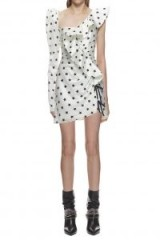 Self Portrait Printed Star Frill Dress
