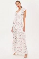 Topshop Spot Maxi Dress | summer party fashion