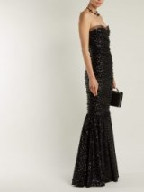 DOLCE & GABBANA Strapless fishtail sequin-embellished gown ~ event glamour ~ beautiful Italian clothing