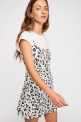 Intimately Top It Off Printed Slip at Free People | animal print cami dress