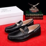 Versace Medusa Leather Loafers