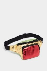 NASTY GAL WANT Glow For It Metallic Fanny Pack | multicoloured bum bag