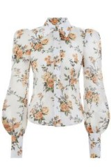Zimmermann Golden Floral Shirt