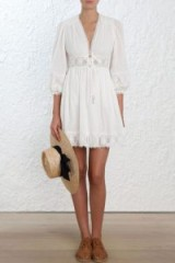 Zimmermann Iris Corset Waist Dress
