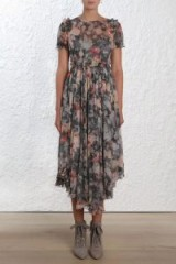 Zimmermann Radiate Ruffle Dress