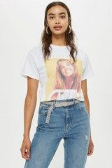 TOPSHOP Britney Spears T-Shirt / graphic slogan tee