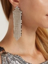 PACO RABANNE Chainmail single earring ~ evening glamour