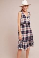 Trovata Dickens Plaid Dress / check print sundress