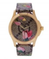 GUCCI G-Timeless Floral Logo Watch | feminine accessory