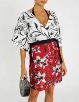 JETS BY JESSIKA ALLEN Oasis silk kaftan – mixed floral prints