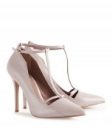 Reiss LOUISE T-BAR COURT SHOES NUDE / stiletto heel courts