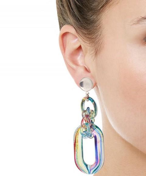 DIANA BROUSSARD Nobu Earrings Multi | multicoloured statement jewellery