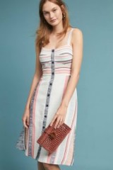 HUTCH Pastel Striped Dress / summer pastels