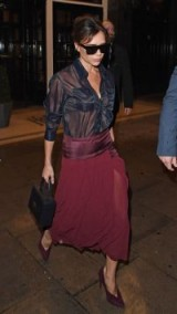 Victoria Beckham / women with their own individual style