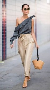 Effortless laid-back glamour ~ summer street style