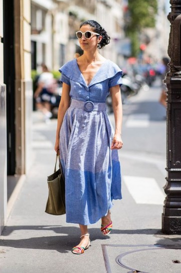 Vintage style summer outfit