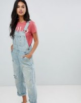Polo Ralph Lauren Distressed Dungarees – summer denim overalls