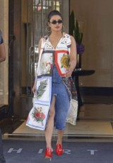 Priyanka Chopra's summer style, June 2018 – celebrity denim