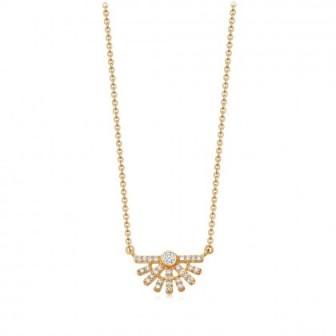 ASTLEY CLARKE Setting Sun Diamond Pendant Necklace   small neat pendants