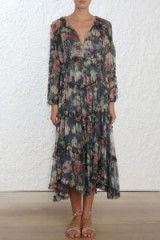 Zimmermann Iris Ruffle Resort Dress