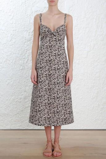 Zimmermann Prima Cherry Tie Dress