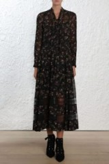 Zimmermann Radiate Tie Up Dress