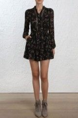 Zimmermann Radiate Tie Up Playsuit