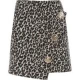 River Island Brown leopard print wrap front mini skirt | animal prints | colours for autumn