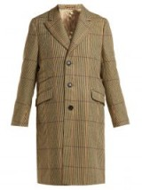 HOLIDAY Checked wool coat / tailored outerwear