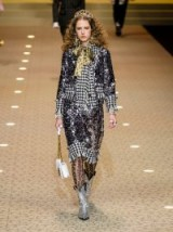 DOLCE & GABBANA Contrast-panel sequin-embellished jacket ~ Italian glamour