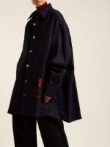 RAF SIMONS Denim overshirt ~ oversized shirts