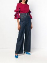 DOLCE & GABBANA flared loose jeans ~ Italian denim flares