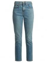 PSWL High-rise slim-fit jeans ~ denim