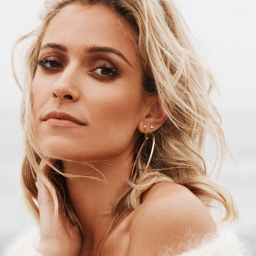 Uncommon James Kingsley (Rose Gold) Hoops | round drop earrings | Kristin Cavallari jewellery | celebrity jewelry