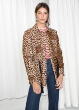 & other stories Leopard Print Jacket. WILD ANIMAL PRINTS