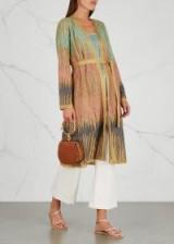 M MISSONI Metallic fine-knit cardigan ~ luxe knitwear