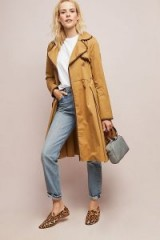 ett:twa Marley Trench Coat in Bronze | brown autumn tones