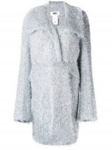 MM6 MAISON MARGIELA sparkle knit cardigan / chunky metallic knitwear