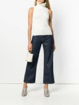 SIMON MILLER cropped wide-leg jeans ~ casual chic